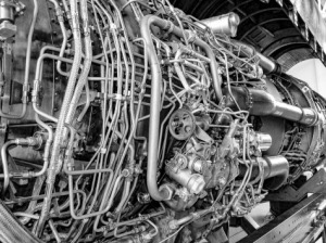 Jet engine.