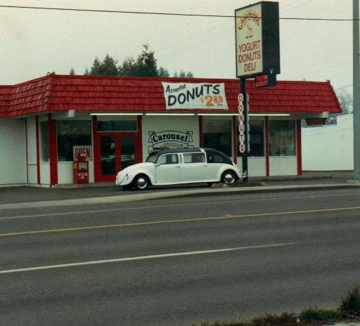 vw limo seen in OREGON LATE 1980S