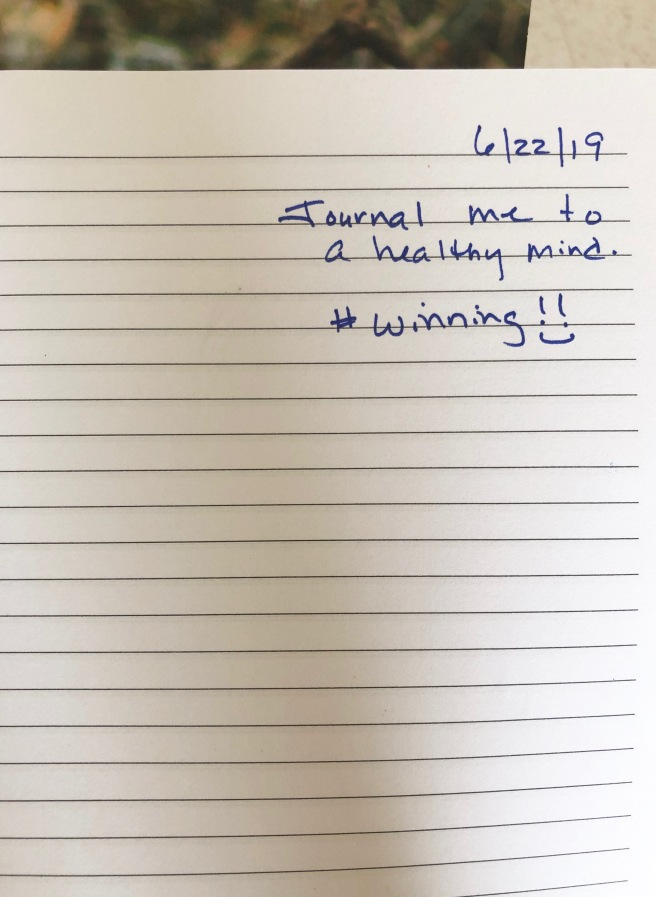 jounral me to a healthy mind journal entry 6.22.19.jpg